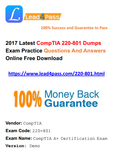 220-801 dumps