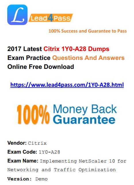 1Y0-A28 dumps