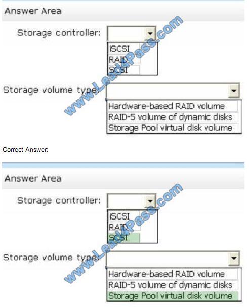 lead4pass 70-412 exam question q11