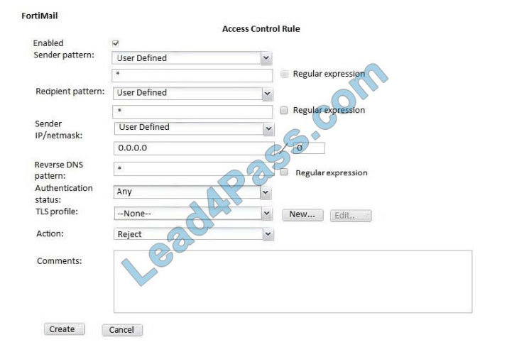 lead4pass NSE6_FML-6.0 practice test q3-1