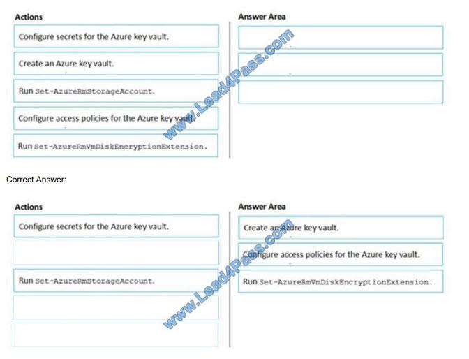 [2021.1] lead4pass az-500 exam questions q12
